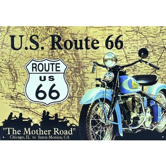 Original USA Blechschild Route 66