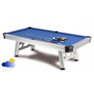 Poolbillard OUTDOOR FLORIDA, der wetterfeste Billardtisch 7 ft.