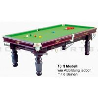 Snookertisch Renaissance 10 ft