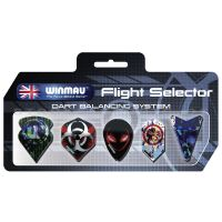 Fly Display 5 Set Winmau *Flight selector* gemischt
