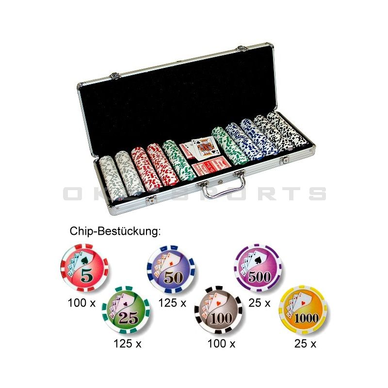 Pokerchips Royal Flush 500