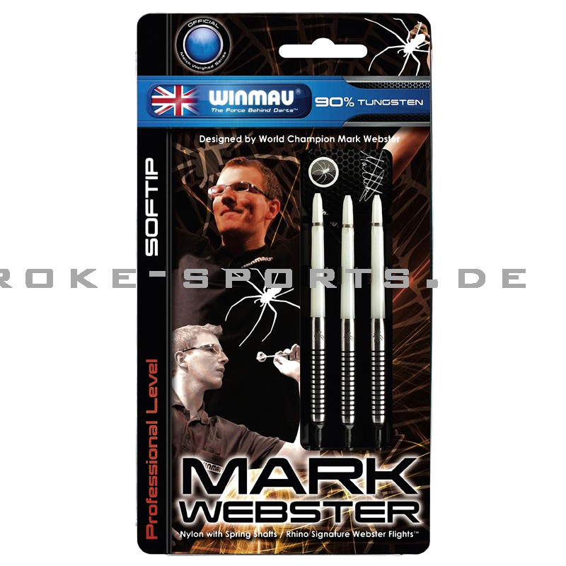 Softdart Winmau Mark Webster 18g