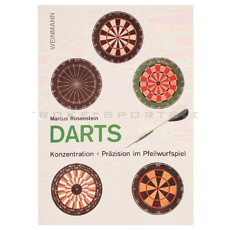 Dartbuch Steeldarts
